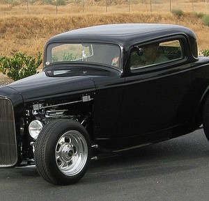 32 Ford 3 Window Coupe Rolling Kit