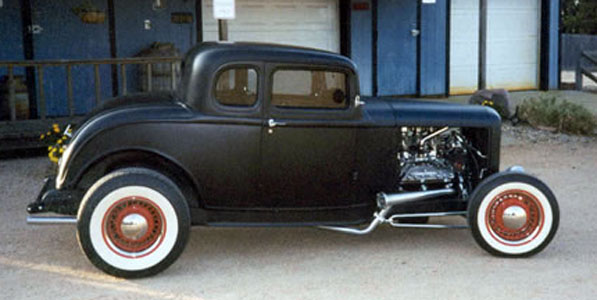 32 Ford 5 Window Coupe Rolling Kit