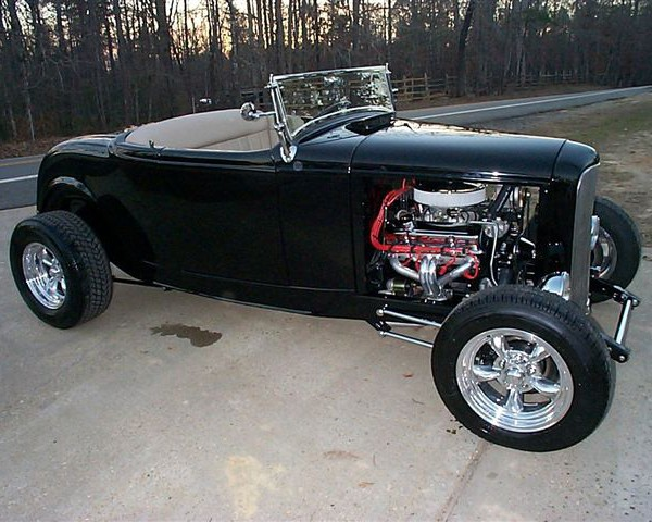 32 Ford Hot Rod Roadster Rolling Kit