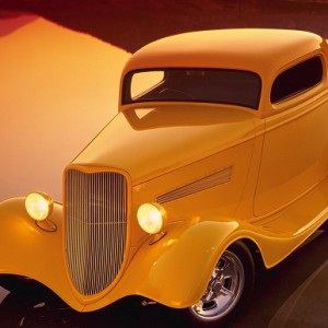34 Ford 3 Window Coupe Rolling Kit