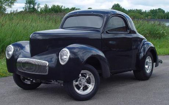 41 Willys Coupe Hot Rod Package Kit